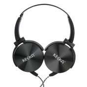 For PC Headset,Y56 Surround Stylish For Sony Smartphone Bass 3.5mm Earphone Headset Headwear Wired Stereo PC Mic