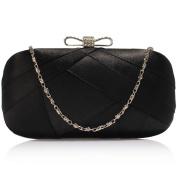 Bridal Clutch Bags Bridesmaid Satin Handbag Women Evening Ladies Party Designer Box Shoulder Bag