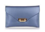 Laura Moretti - Leather clutch / envelope bag