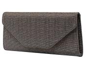 Rainbow Club Saskia - Metallic Fabric Clutch Bag