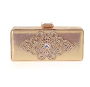 Fashion Dinner Package Korean Bag Clutch Diamond Package Women Craft Bags