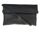 Girly HandBags New Neon Faux Leather Hand Clutch Bag Vintage Evening Fold Evening Bag Folded Handbag