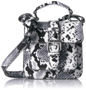 Armani Jeans Women's Cross-Body Bag Black black-white