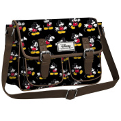 DISNEY Mickey Moving- Rectangular Bag for Woman- Colour:Black