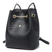 Malirona Leather Bucket Bag Women Crossbody Bag Shoulder Handbags with Chain Strap
