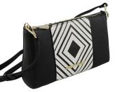 Armani Jeans Women's Cross-Body Bag Black black-white