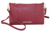 Armani Jeans Women's Cross-Body Bag red bordeaux