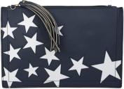 styleBREAKER Women's Cross-Body Bag Blue Midnight-Blue / Dunkelblau One Size
