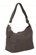 AMBRA Moda Women's Leather Handbag Shoulder Bag Cross-Body Bag Hobo Bag GL005