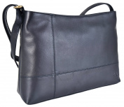 Gigi Leather Top Zip Shoulder Handbag 3 Colourways 15164