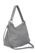 AMBRA Moda Women's Genuine Leather Handbag, Shoulder Bag,Hobo bag, Cross body bag GL002 Many colours