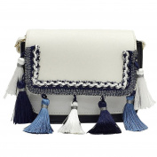 Shoulder Bags WINWINTOM Retro Female Tassel Bag Crossbody Shoulder Bag Handbag