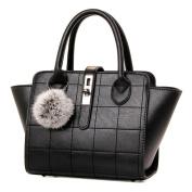 Handbags Retro Fashion Handbag Handbag Shoulder Messenger Bag,Black