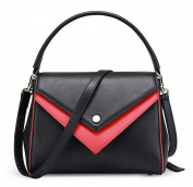 XinMaoYuan Autumn And Winter Hit The Colour Of The Shoulder Messenger Bag Pure Colour Cross Section Covered Leather Handbag
