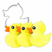 Bazaar Duck Shape Stainless Steel Cookie Cutter Fondant Cake Mould Baking Tool