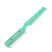 ULOOIE Plastic Comb with Hair Cutting Trimmer Razor Tool