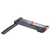 Aibecy Portable A4 Paper Trimmer Cutters Guillotine with Pull-out Ruler for Photo Paper Labels Cutting Black