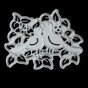Kingko® Animal World Theme Cutting Dies Metal Stencils Embossing For DIY Scrapbooking Album Paper Card Art Craft Gift