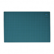 KKmoon GKS PVC A3 Cutting Mat Manual DIY Tool Cutting Board Double-sided Self-healing Cutting Pad 5cm and 1cm Grids Patchwork Tools 30cm * 45cm * 3mm Green