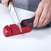 YPS Kitchen folding portable non-slip ceramic knife sharpener stone knife sharpener Rod Sharpener