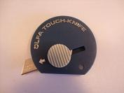 Olfa Touch Knife - Mini pocket sized knife Cutter - Blue