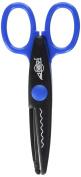 faibo 764b-4 – Notched Scissors, 13 cm
