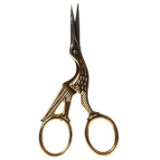 Bohin Stork Scissors Glit 8.9cm , Gold