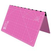 Foldable Cutting Mat A2 Self Healing Imperial 60cm x 46cm - Pink