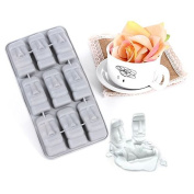 Moai Stone Statues Ice Tray Ice Cubes Mould DIY Easter Stone Shape Ice Box