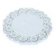 150PCS 19cm Napkin Hollow Lace Paper Mat Crafts Paper Decoration Kitchen,D...