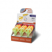 Children's Craft Scissors Assorted Colours with Extra protection CAP
