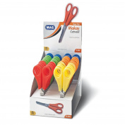"""Craft Scissors, Scissors Stainless Steel Assorted Colours with """"increments"""