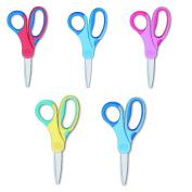 Children's Scissors Craft Scissors, assorted colours School Scissors Soft Grip Children's Scissors