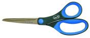 Locau Scissors 166.32300000000001 Tailleur bi-matière/Rings Stainless Steel Blue 23 cm