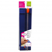Vaessen Creative Paper Trimmer, Plastic, Blue, 30 cm