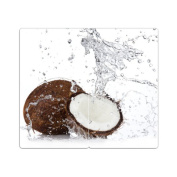 Hob Covers with Knobs Set of 2 Chopping Board Coconut