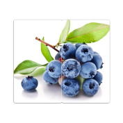 Hob Covers with Knobs Set of 2 Chopping Board Berries