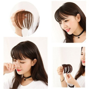 Vasyle Simulated wig female air mini bangs with sideburns Qi Liu Hai Han thin section stealth wig