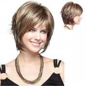 MENRY New hot Women Short multicolor wig Hair Full Wigs