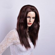 MENRY Kendall Brown Natural Weave for Women Synthetic Hair Wigs
