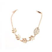 Pinzhi Women Gold Hair Pins Clip Flower Beauty Crystal Headband Accessories Clip