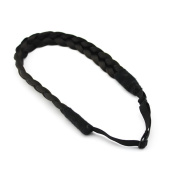 MERRYLIGHT Hair Band Braid Plaited Chunky Hair Headband Hairpiece