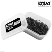 750 x KODO Professional Black Elastic Hair Band, Hair Styling Ponytails & Bun