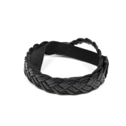 Modern Hair Band with Braided Pattern