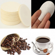 QuiCi 100pcs 60mm Disposable Coffee Maker Replacement Professional Filters Paper For Aeropress Coffee Tea Tools Kitchen Tools