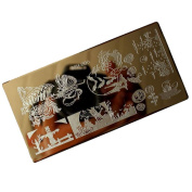 Christmas Nail Stamp Plates DIY Image Stamping Manicure Template Nail Art Plate MML