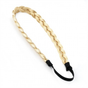Bling Online Plaited Synthetic Hair Plait Headband in Black, Brown or Blonde.