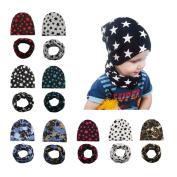 BrilliantDay 9 PCS Turban Winter Warm Cap Hat Children's Lovely Soft Hat