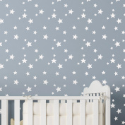 5-POINT STAR CLUSTER Nursery Childrens Bedroom Stencil - Wall Stencil for Painting