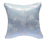 HYSENM 50cm x 50cm Stylish 100% Polyester Both Sides Jacquard Home Office Décor Throw Pillow Sham Cushion Cover, blue, 50cm x 50cm